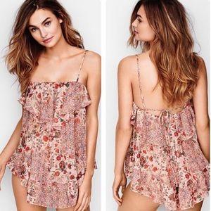Victoria's Secret Pink Floral Babydoll